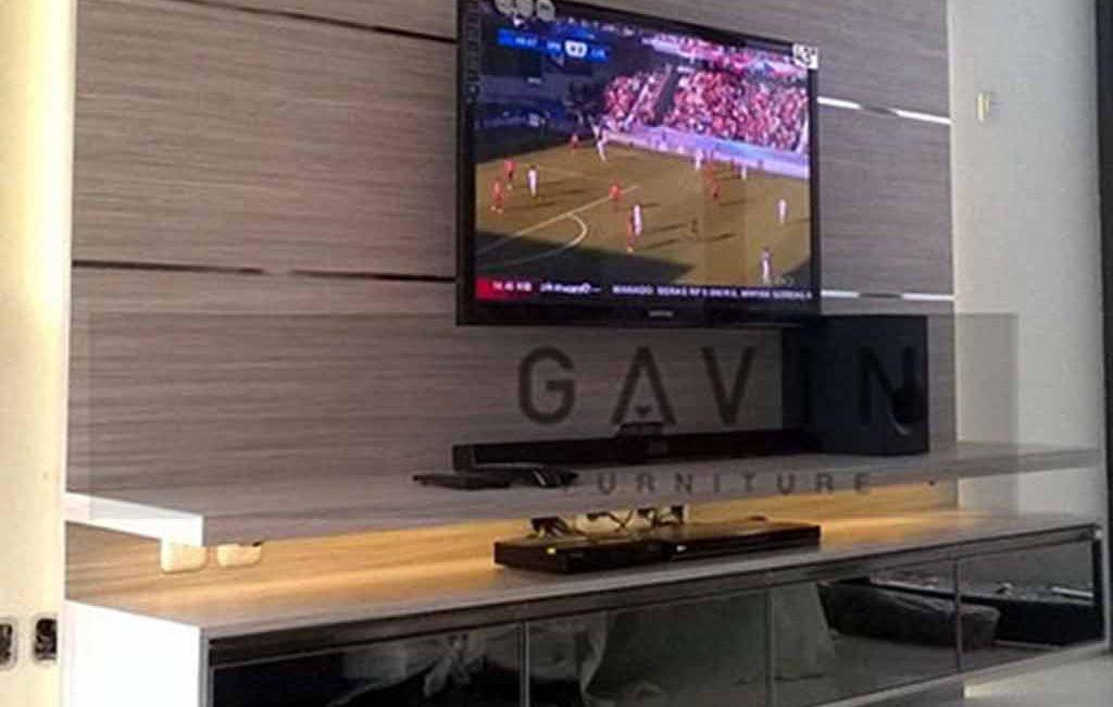 Backdrop TV Ruang Keluarga Dengan Desain Menarik