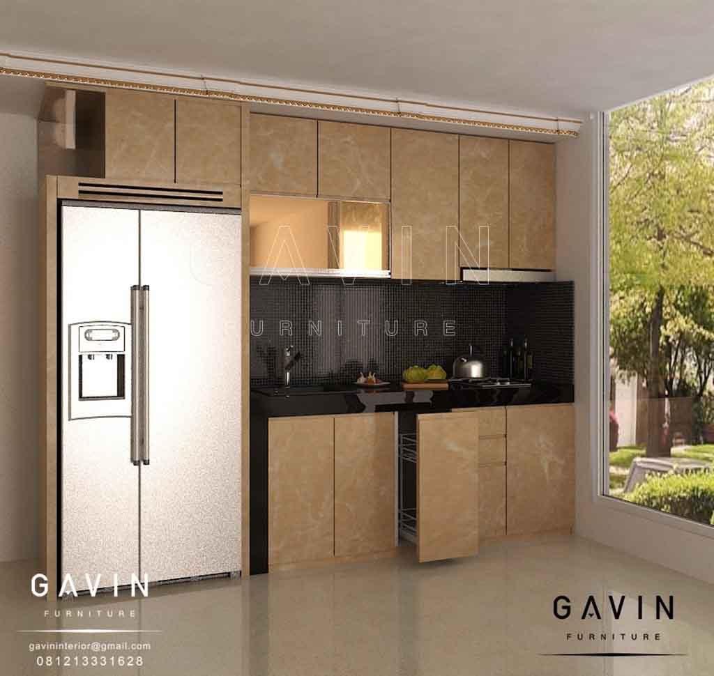 Desain Kitchen Set Minimalis Mewah By Gavin Interior