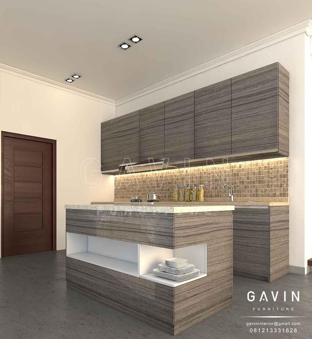 Gambar Kitchen Set Model Minimalis Untuk Dapur Kotor Gavin Interior