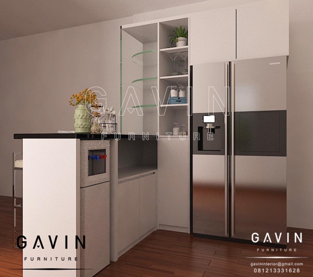 Design interior dapur minimalis modern project di ciledug for Siti di interior design