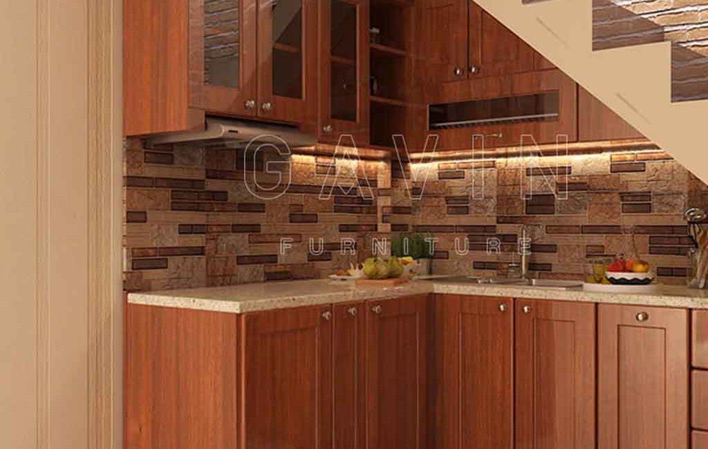 Hasil Dari Pembuatan Kitchen Set Klasik Di Pulo Gebang