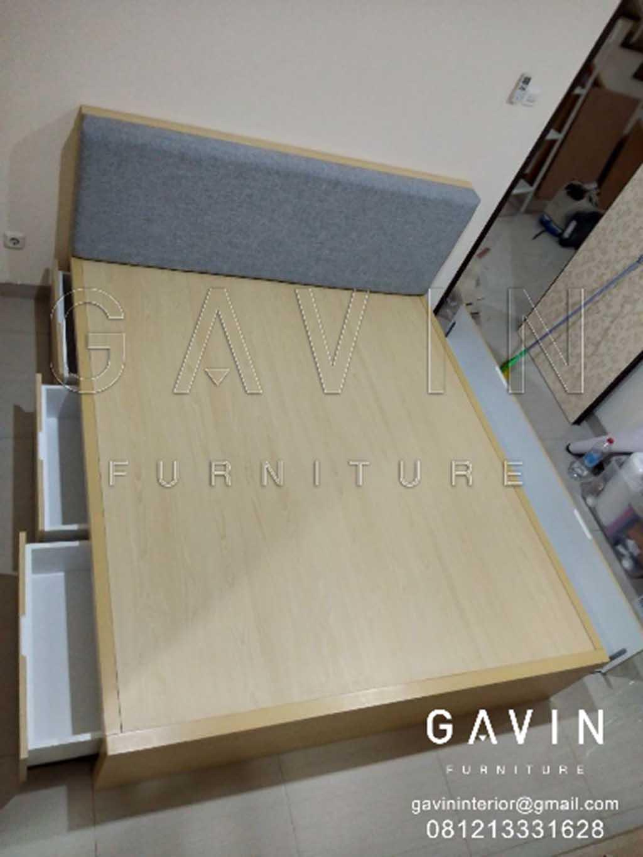 Contoh dipan laci design minimalis hpl untuk klien di ciputat for Gavin interior design jakarta