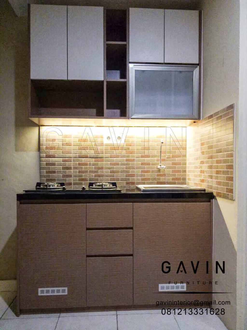 Wood Kitchen Set In Tangerang