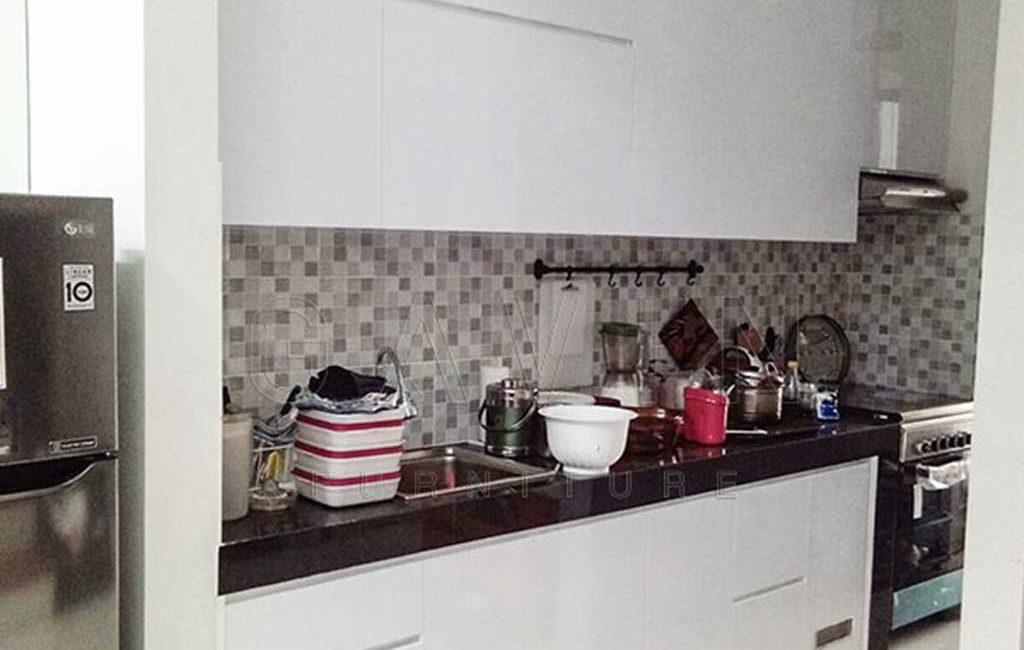 Contoh Kitchen Set Letter i Minimalis Di Bintaro