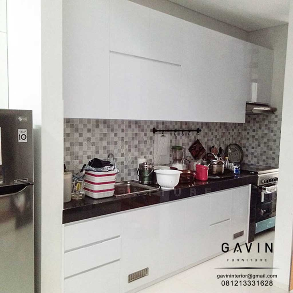 Kitchen Set Letter L: Contoh Kitchen Set Letter I Minimalis Di Bintaro