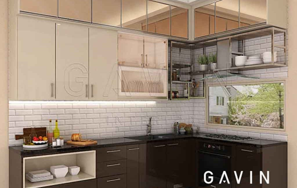 Kitchen Set Cermin Kombinasi Duco Joglo