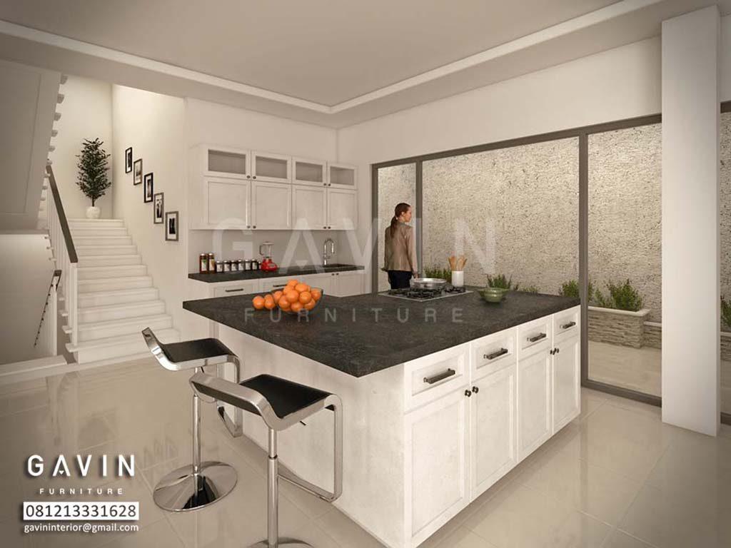 Meja Island Dapur Pembuatan Custom By Gavin