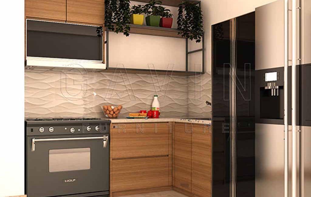 Lemari Dapur Ukuran Kecil HPL Pondok Aren