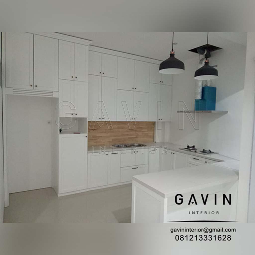 Kitchen Set Model Klasik Dengan Mejabar Jonggol