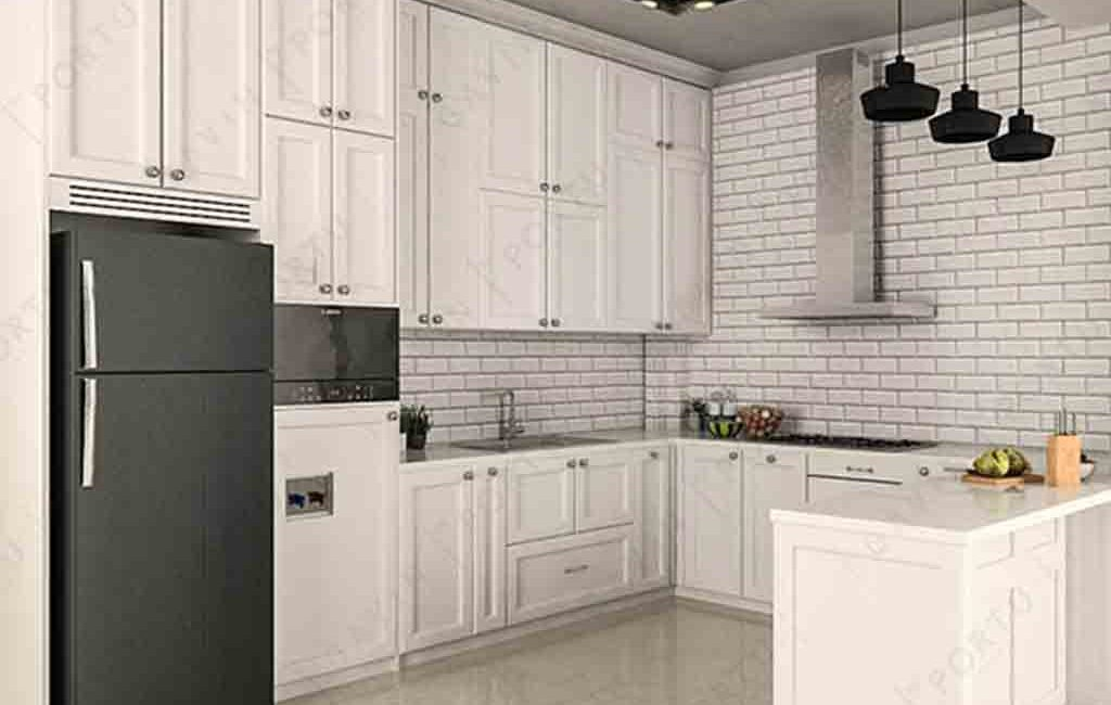 Kitchen Set Model Klasik Dengan Mejabar Jonggol