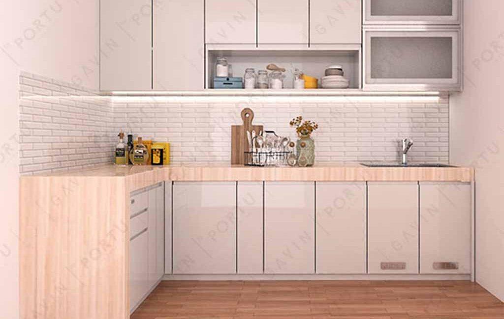 Kitchen Set Duco Minimalis Pasang Di Komp. Sek Neg RI Tangerang
