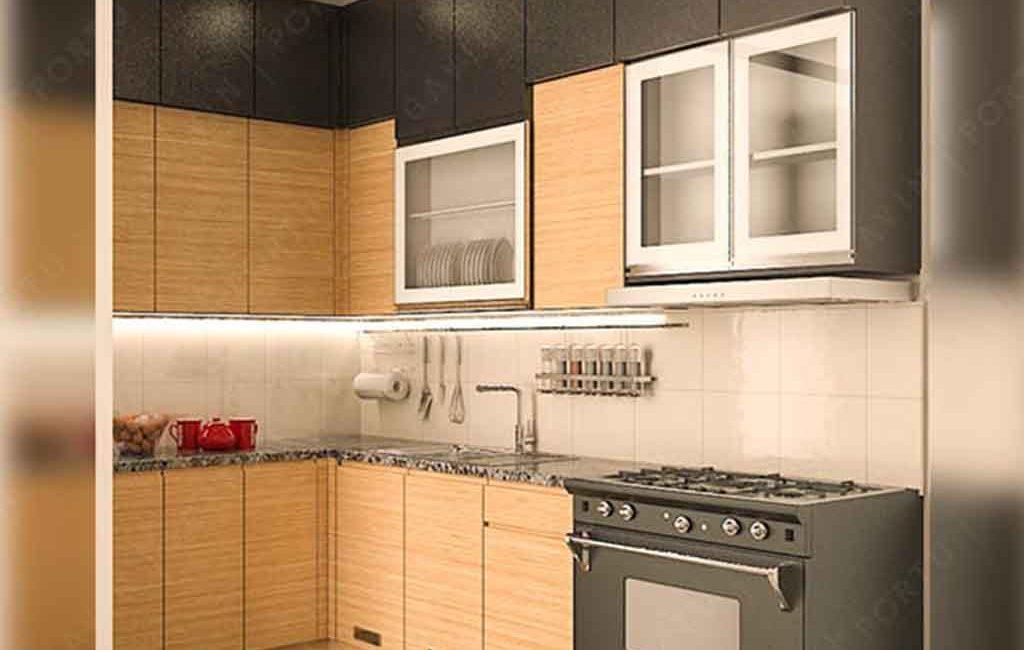 Contoh Kitchen Set Papan Upvc Puri Gading Bekasi Gavin Interior