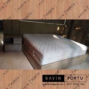 buat ranjang tempat tidur minimalis project di Bintaro 9 id3313