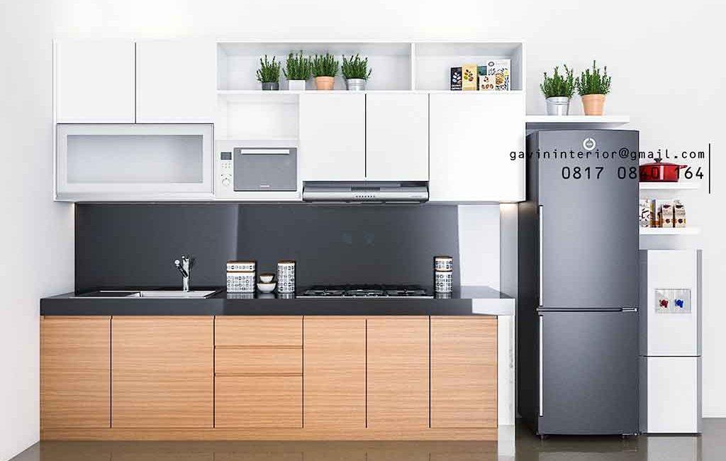 Buat Kitchen Set Bentuk i Di Perumahan Brix Bintaro