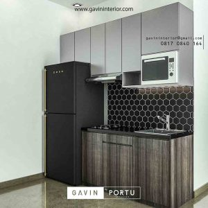 design kitchen set letter i minimalis di Cawang id3454