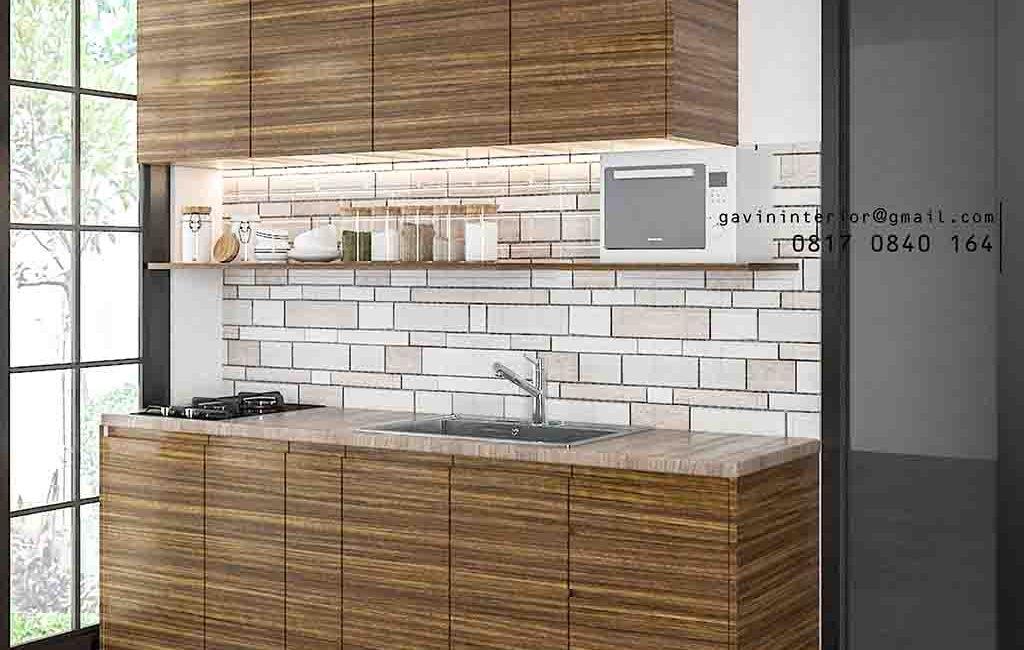 Project Taman Permata Bintaro 9 Untuk Kitchen Set Minimalis Kecil