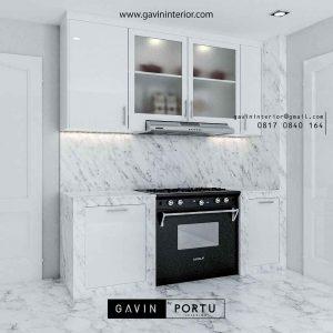 design kitchen set letter i warna putih by Gavin id3444
