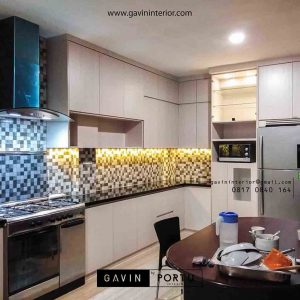 gambar kitchen set bentuk l minimalis by Gavin Interior id3414