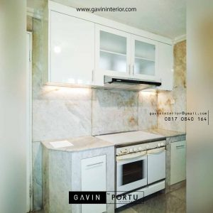 model kitchen set letter i minimalis di Kebayoran id3444