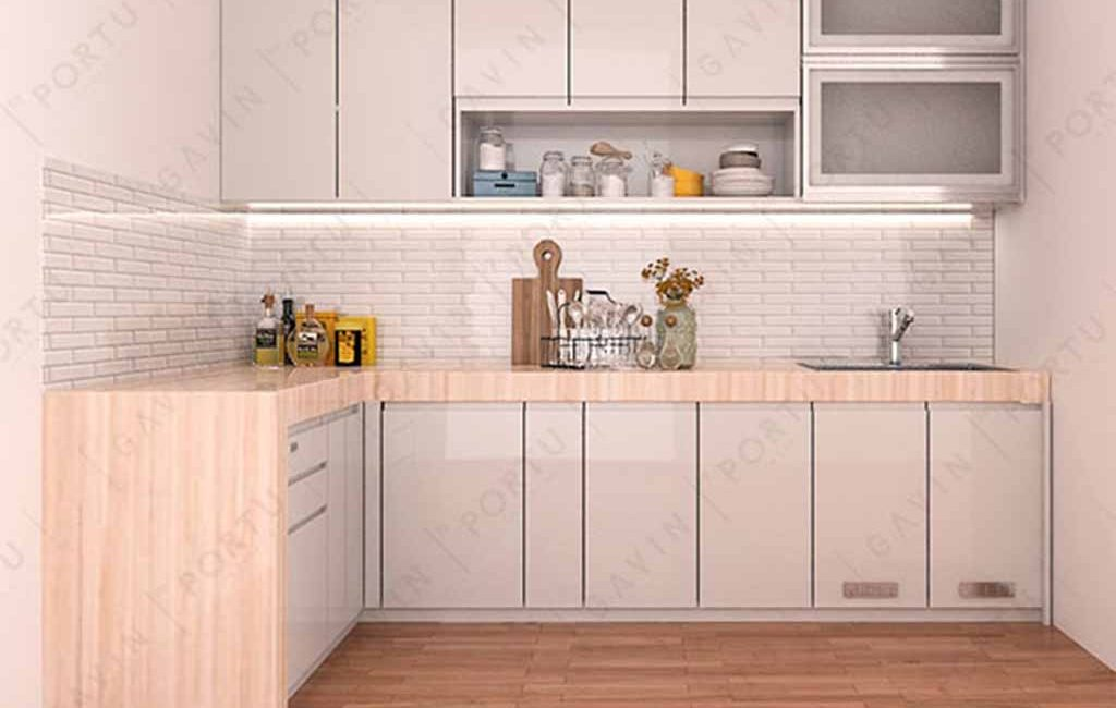 2 Jenis Utama Bahan Kitchen Set