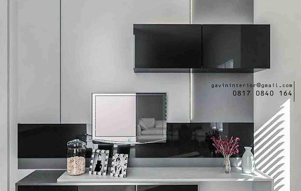 Keren Abis! 8 Desain Backdrop TV Minimalis Manis