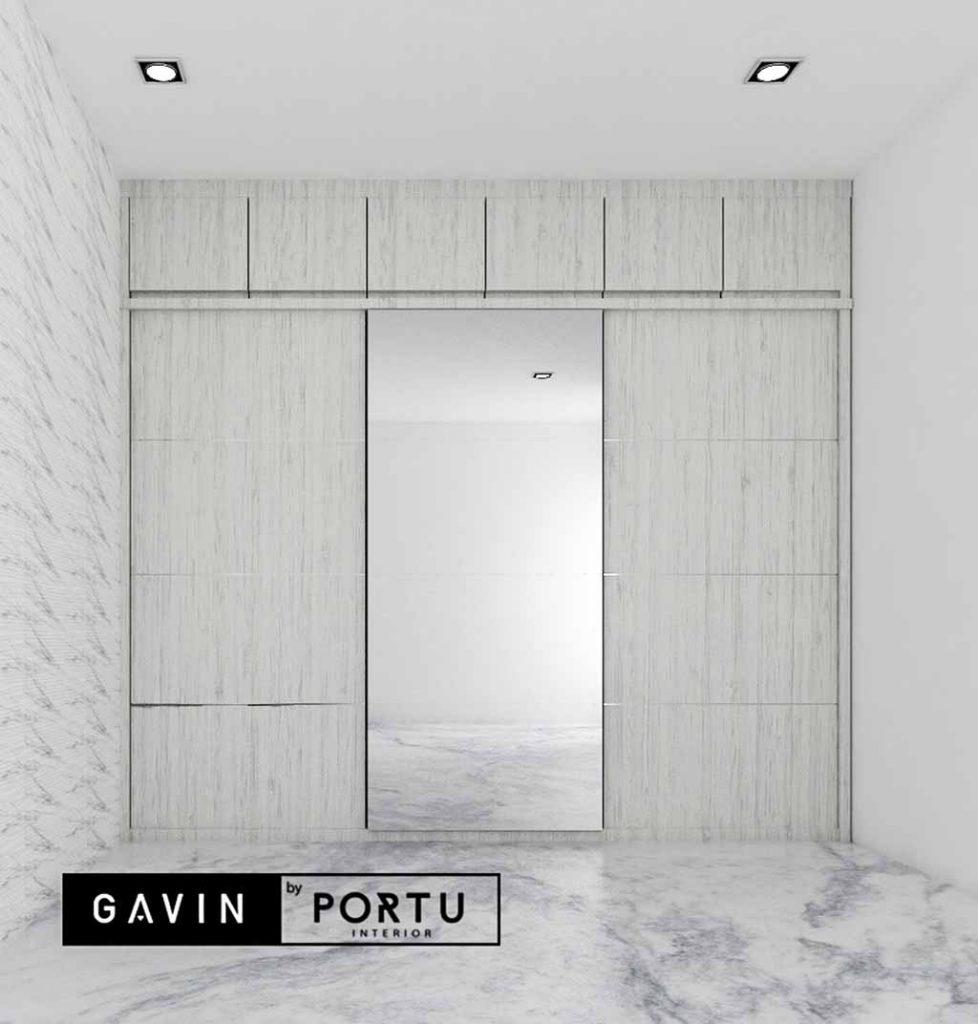 contoh lemari sliding 3 pintu minimalis Gavin Interior ...