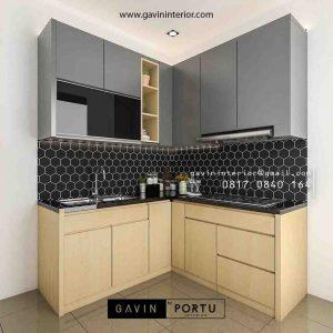 Hasil Pasang Kitchen Set Minimalis Klein Botanica Valley Serpong id3892