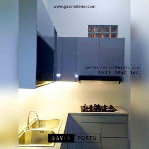 Hasil Pasang Kitchen Set Minimalis Klein di Botanica Valley Serpong id3892