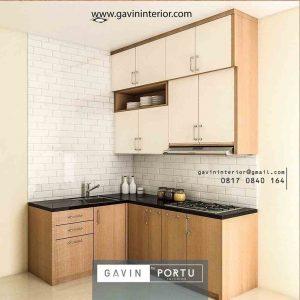 Gambar kitchen set model minimalis id3985