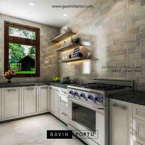 Jasa Pembuatan Kitchen Set Desain Custom Terbaik