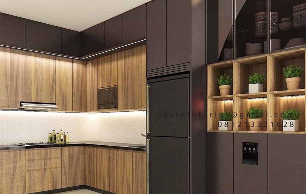 Kitchen Set HPL Untuk Dapur Minimalis Modern