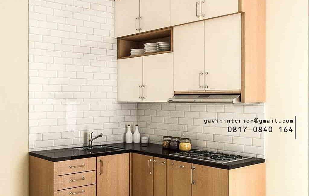 Kitchen Set Model Minimalis The Icon Verdant Ville Sampora Cisauk