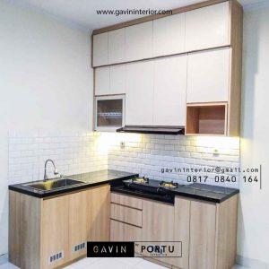 Kitchen Set Model Minimalis di The Icon Verdant Ville Sampora Cisauk id3985