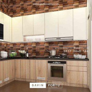 kitchen set model minimalis terbaru 2020 id3945P