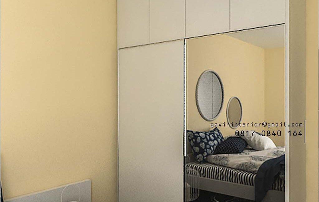 6 Desain Lemari Sliding 2 pintu Keren Banget