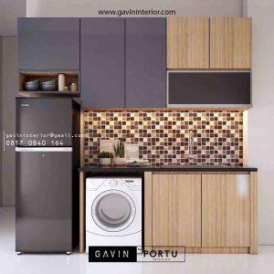 Design Kitchen Set Minimalis Untuk Apartment