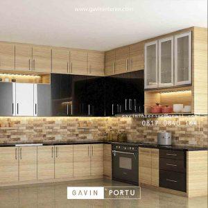 Design Kitchen Set Klasik harga terjangkau