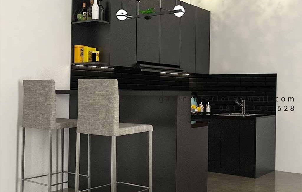 40+ Portofolio Kitchen set Warna Black Paling Favorit