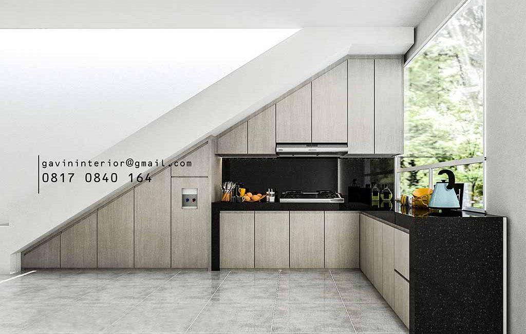 Buat Kitchen Set Motif Kayu Perumahan Discovery Aluvia Bintaro Jaya Pondok Aren