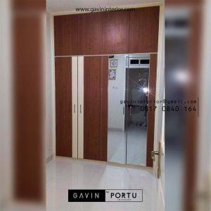 Lemari Pakaian Motif Kayu Klien di Pulo gadung Jakarta Id3990