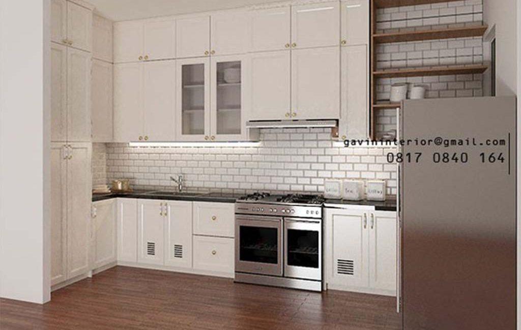 Jual Kitchen Set Klasik Putih Bekasi Kompleks Billy Moon Duren Sawit Jakarta
